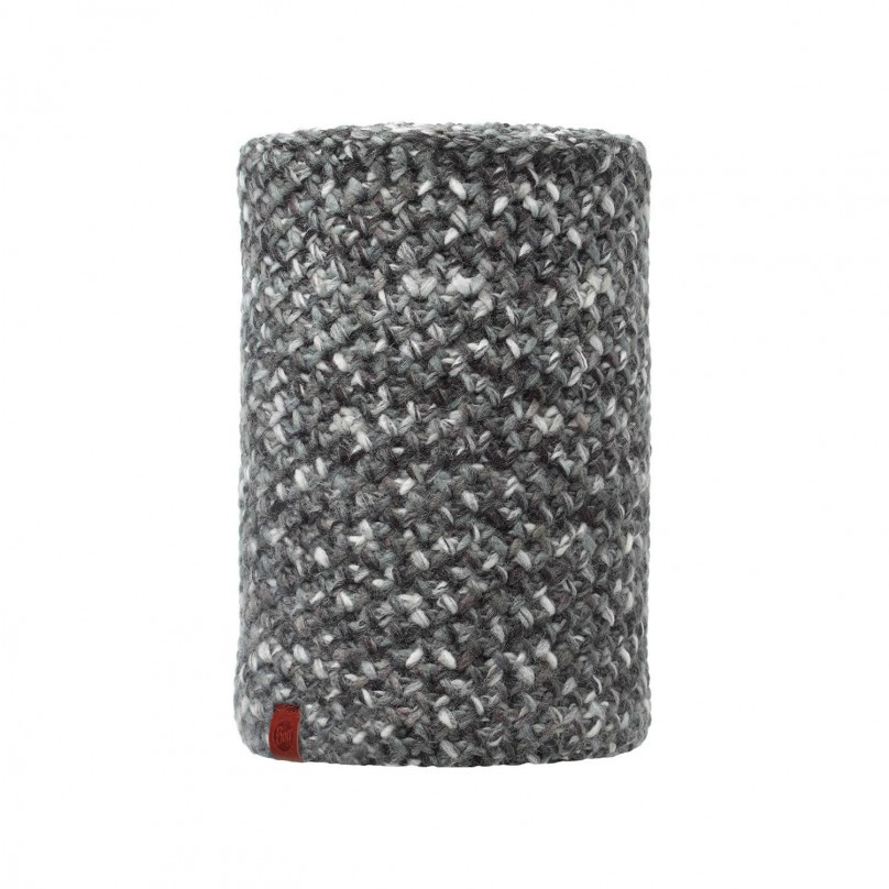 BUFF - KNITTED & POLAR NECKWARMER BUFF MARGO GREY
