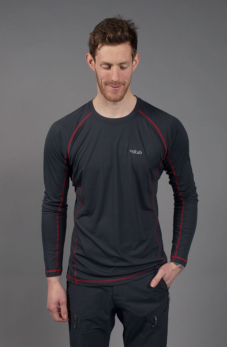 RAB - INTERVAL LS TEE - MEN