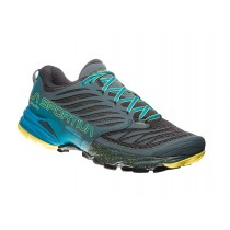 LA SPORTIVA - AKASHA SLATE/TROPIC BLUE - MEN