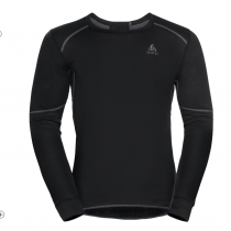 ODLO - BL TOP CREW NECK L/S ACTIVE WARM ECO - MEN