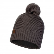 BUFF - KNITTED & POLAR HAT RAISA GREY CASTLEROCK