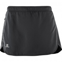 SALOMON - AGILE SKORT W BLACK - WOMEN