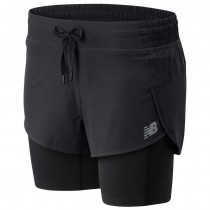 NEW BALANCE - IMPACT RUN 2IN1 SHORT - WOMEN