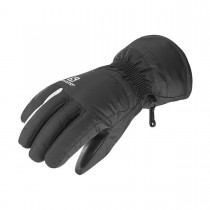 SALOMON - GLOVES FORCE W BLACK/WHITE - WOMEN