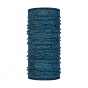 LIGHTWEIGHT MERINO WOOL LAKE BLUE MULTI STRIPES