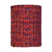 KNITTED & POLAR NECKWARMER MARGO MAROON